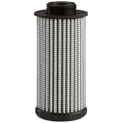 pleated microglass